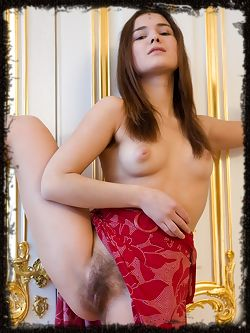 All natural Francine has a healthy body and a big smile, she has a full bush and underarm hair too.